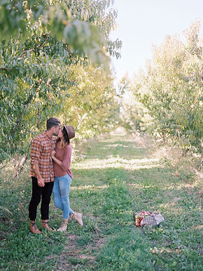 apple-orchard-a-couple-kissing-H4ZJEVE.j