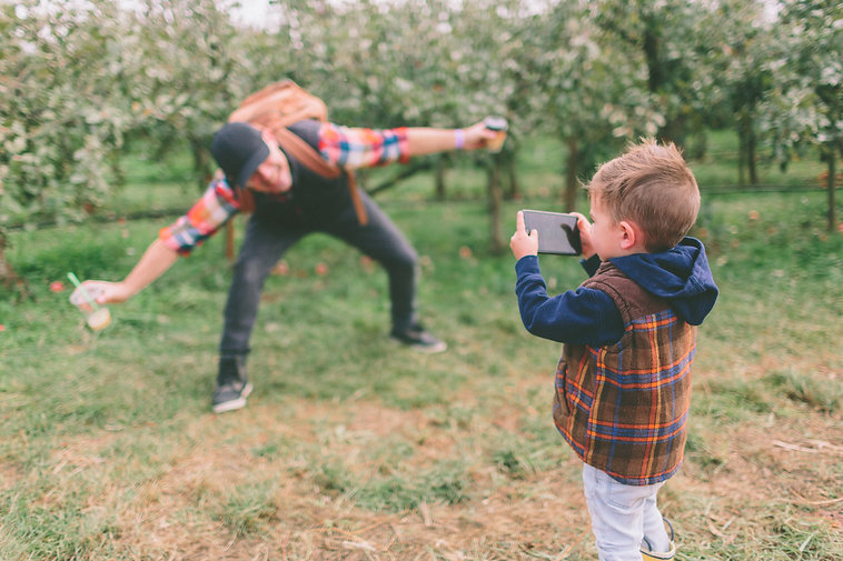 Fathers Day at Bowman Orchards.jpg