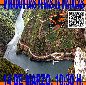 14 DE MARZO. SALIDA PONTEVEDRA. MIRADOR DAS PEÑAS DE MATACAN