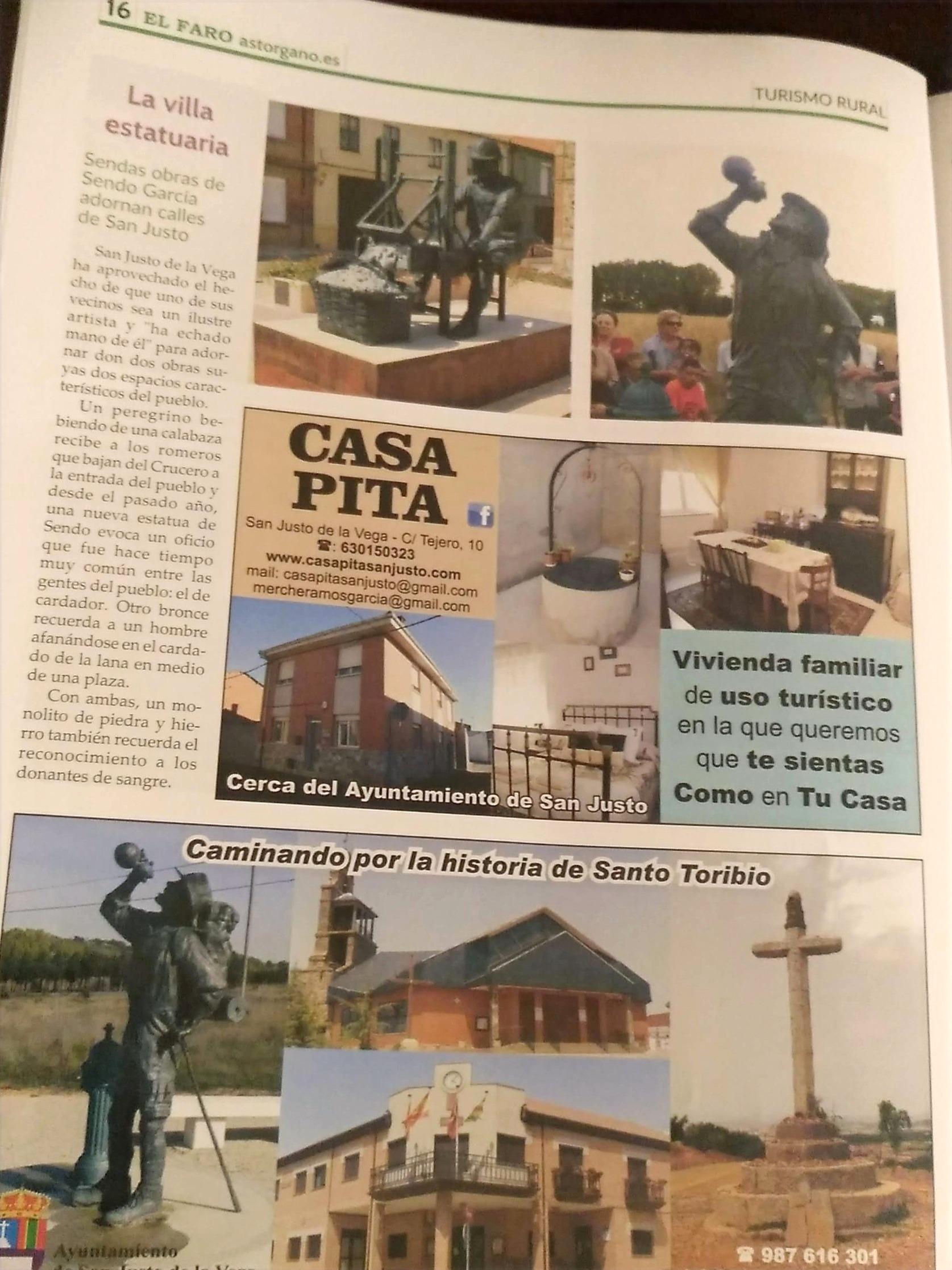 Foto Revista Turismo Rural 2019