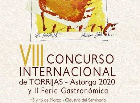 El Ayuntamiento de Astorga cancela el VIII Concurso Internacional de Torrijas. Fecha a determinar.