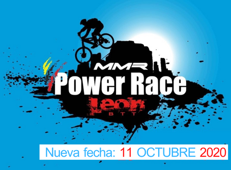 MMR POWER RACE LEÓN       11 DE OCTUBRE 2020 Inscripciones abiertas