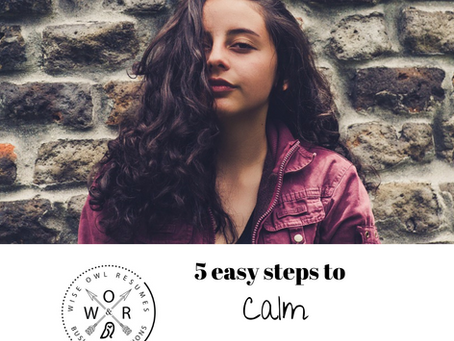 5 Easy Steps To Calm Your Nerves
