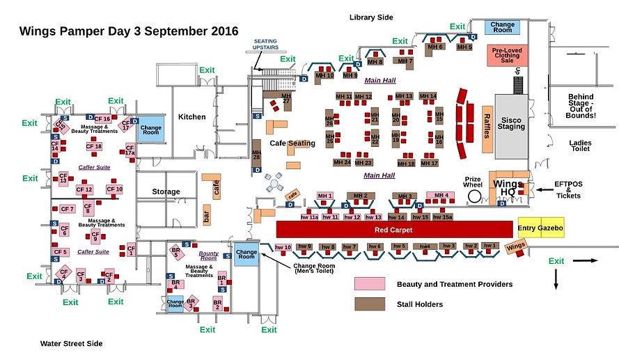Pamper Day Floorplan