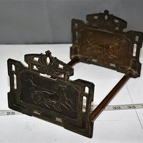 Early 1900s Adjustable Bookends