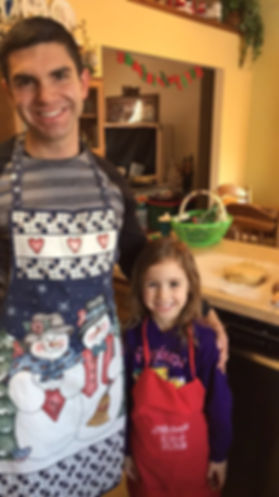 Baking Cookies with Niece Zoey