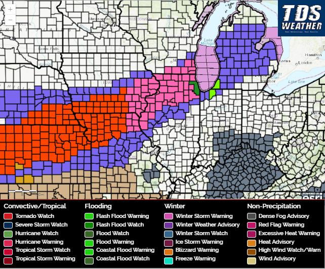 Significant Winter Storm Analysis, Forecast, and Impacts