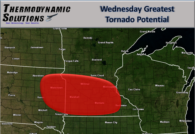 Severe Weather and Excessive Heat Target the Midwest Wednesday