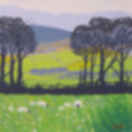Sally O'Neill Art Painting Acylic Devon Dartmoor