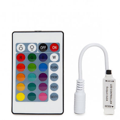 LED Strip IR Controller & Remote Combo