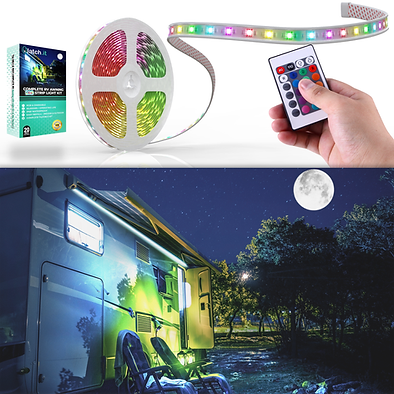 Complete RV Awning 20' LED Strip Set