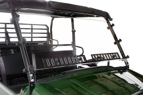 Spike Powersports Kawasaki Mule PRO-FXT Windshield W/Dual Vents-Hard Coated