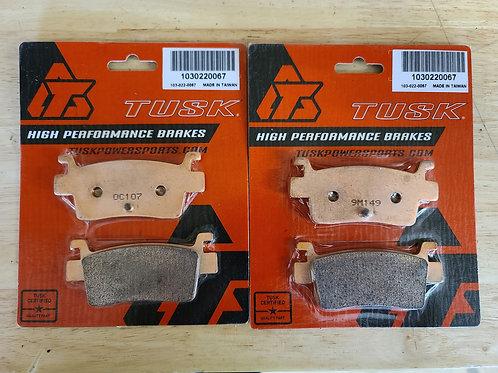 KRX 1000 Tusk rear brake pads (pair)