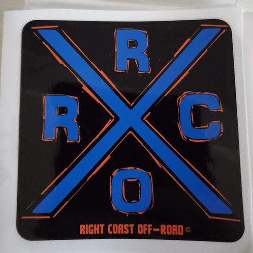 Right Coast Off-road X sticker