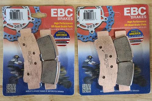 KRX 1000 EBC FRONT BRAKE PADS (PAIR)