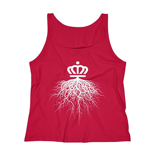 Charlotte Roots Relaxed Jersey Tank Top