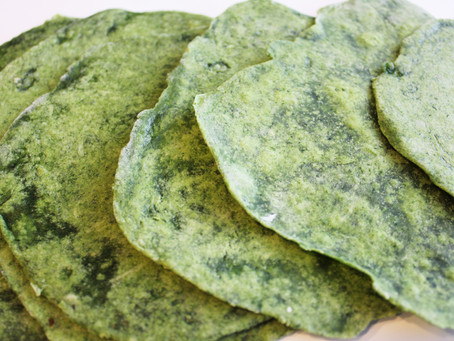 Spicy Spinach Tortillas