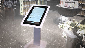 interactive digital wayfinding, 10 point capacitive touch screen