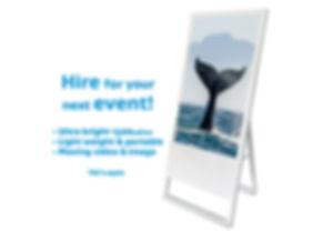AV hire, event hire, video screen hire rental Christchurch loop media