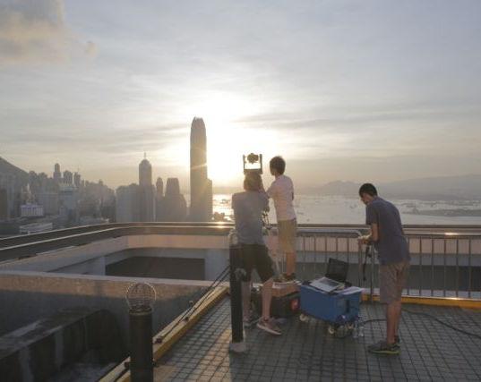 GigaPan shoot Hong Kong