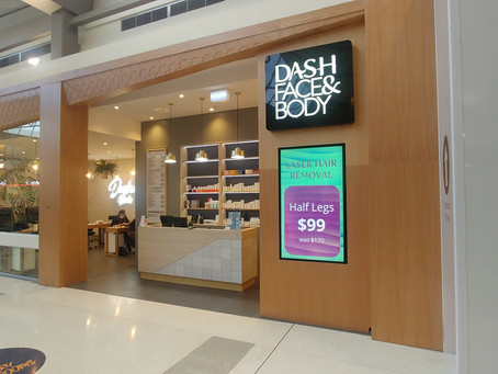 Dash Face & Body new store fit out!