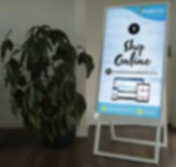 Digital bill boards for hire in christchurch AV