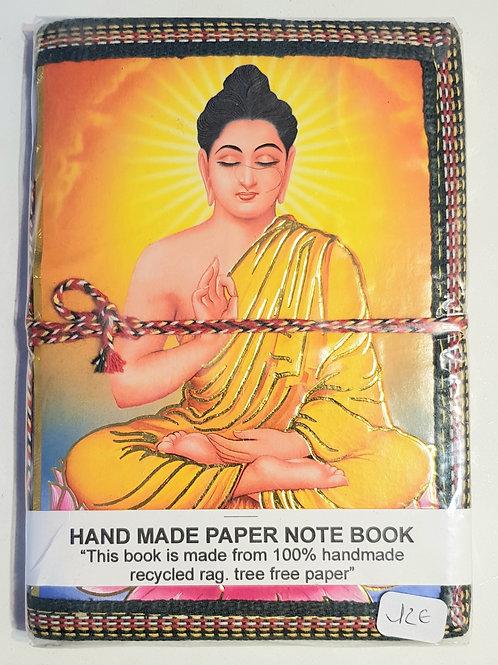 Note book  fait main 100°/. papier recyclé