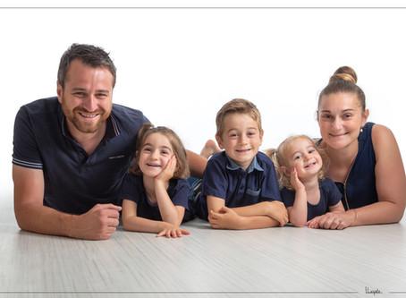 Une séance photo en famille !