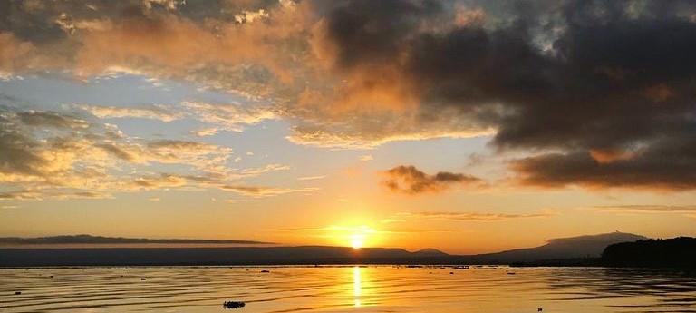 Sunrise on Lake Naivasha