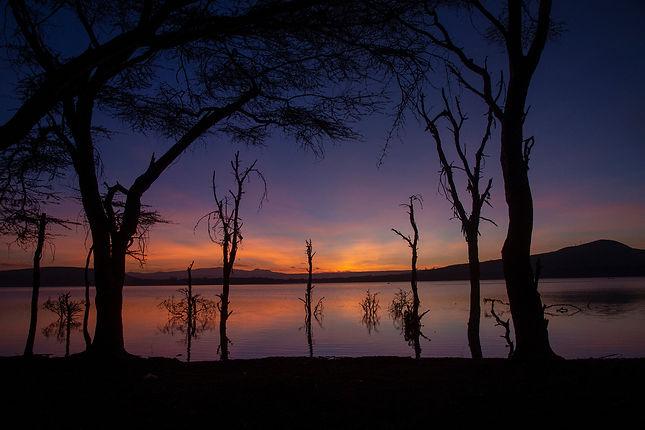 Sunrise on Lake Oloidien
