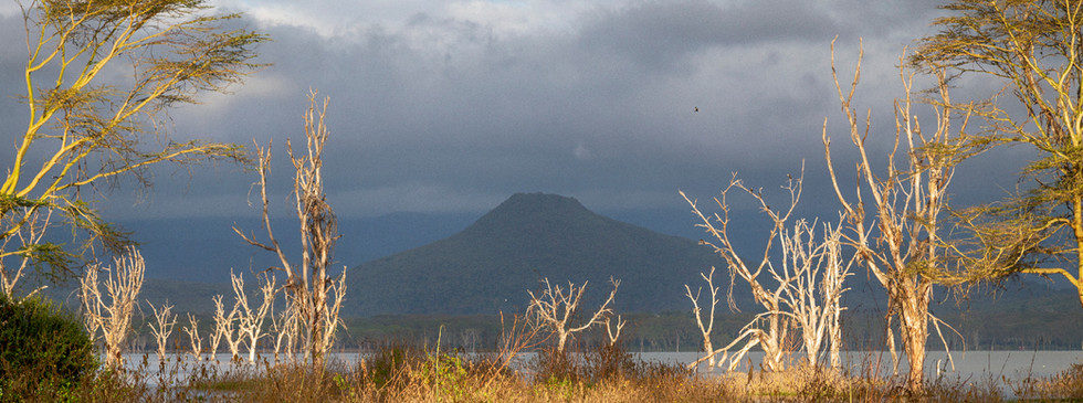 Mulla Hill from across the lake