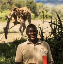Welcome Drink & Giraffe