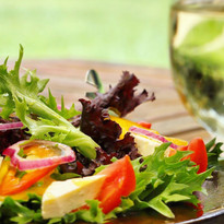 Organic salad from our vegetable farm