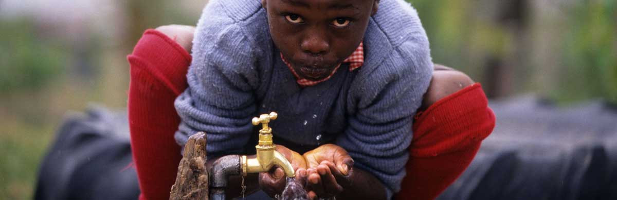 Boreholes and water sanitsation areas