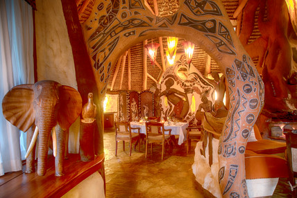 Chui Lodge dinning area