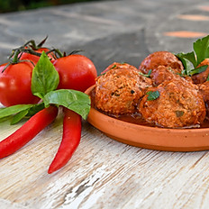 Polpette all'arrabiata