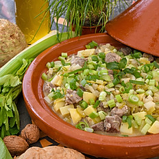 Irish Stew mit Fleisch / vegan