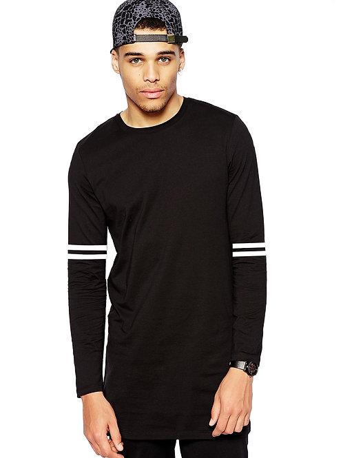 """Striped"" - mens long sleeve shirt"