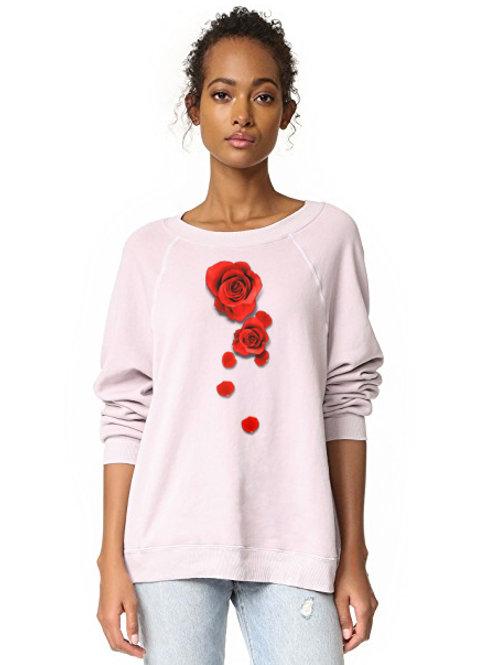 """Dripping"" - womens hoodless sweater"