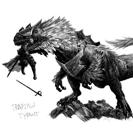 Trapjaw Tyrant - Chris Rahn