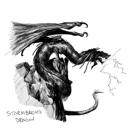 Stormbreath Dragon - Slawomir Maniak
