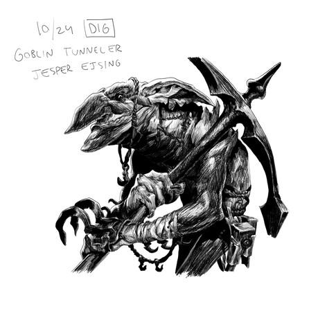 goblin tunneler - Jesper Ejsing