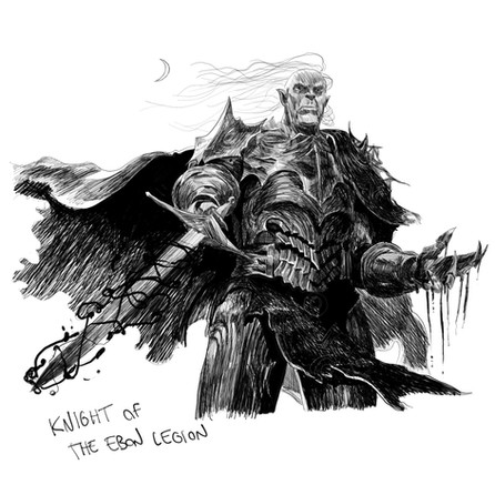 Knight of the Ebon Legion - Alex Konstad