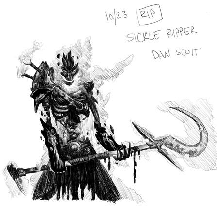 Sickle Ripper - Dan Scott