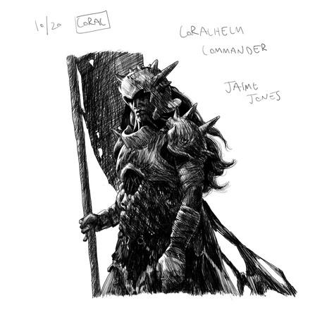 Coralhelm Commander - Jaime Jones