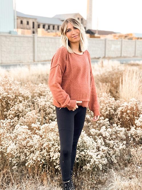 Dottie Textured Sweater