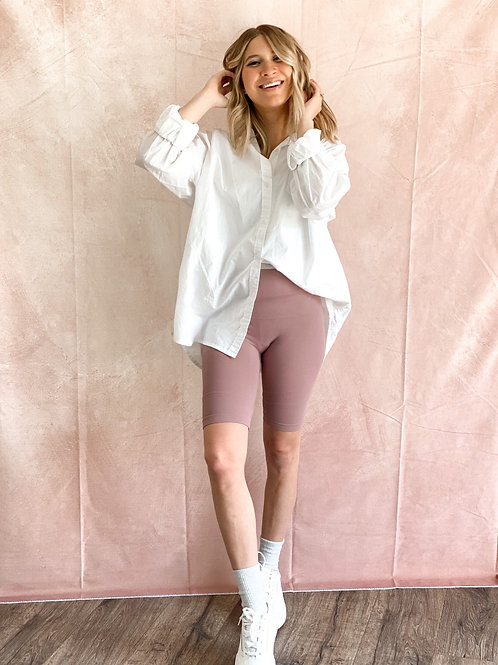 All That Biker Shorts in Dusty Lilac