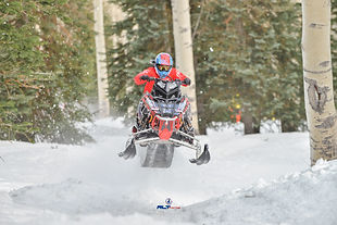 Keith Bailey Snowmobile Hillclimb Racer