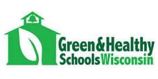 Green & Healthy Schools WI Logo