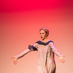 Gabrielle Armenier, eurythmy Brigitte Armenier, piano, Florin Parvulescu, violin Eugene Ysaye Violin Sonata No. 3 Lincoln Theater Napa Valley Performing Arts Center Eurythmy Eurythmie Art of Movement stage arts Costumes Veils Silk